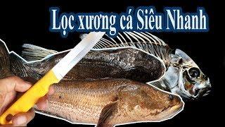 Bà chị RÚT xương cá Lóc cực đỉnh và cách phân biệt cá đồng - cá nuôi