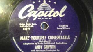 Watch Andy Griffith Make Yourself Comfortable video