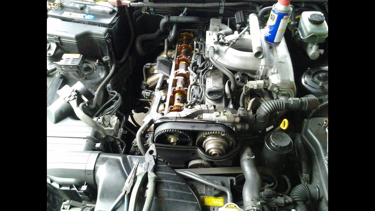 Lexus Is300 Exhaust Valve Gasket Replacement Part 1 Youtube