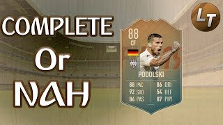 Flashback Podolski Review!  |  Complete or Nah  |  FIFA 19 Player Review Series