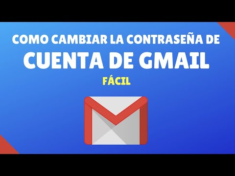 Como Cambiar la Contraseña de Gmail - NOVATOS - PASO A PASO