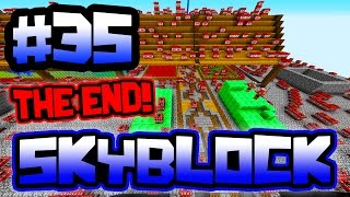 THE END OF SKYBLOCK!! | Server SkyBlock in Minecraft #35