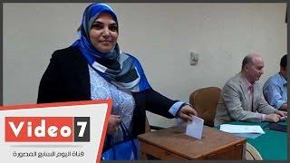 بالفيديو..انتخابات شعبة الإتصال وتكنولوجيا المعلومات بنقابة الصحفيين