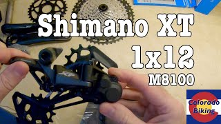Shimano XT 12 Speed M8100 - Updating an old bike | Worth it? Part 1