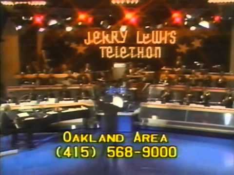 1977 Jerry Lewis Telethon Memores with Frank Sinatra, Jerry Vale, Follies Bergere and more...
