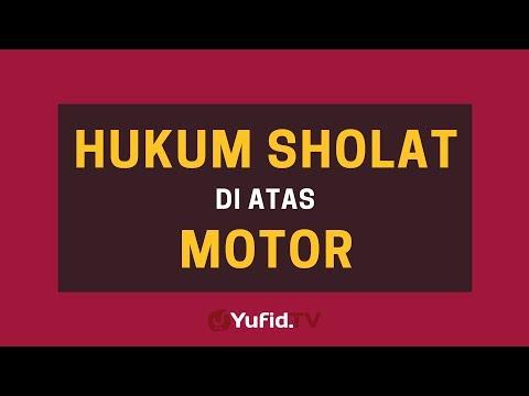 Hukum Shalat di Atas Motor