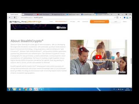 STEALTHCRYPTO - безопасная платформа для хранения данных и крипто - транзакций