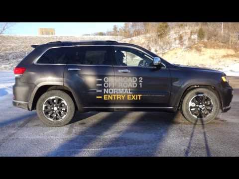 2014 Jeep Grand Cherokee Quadra-Lift® Air Suspension Levels Demo 1
