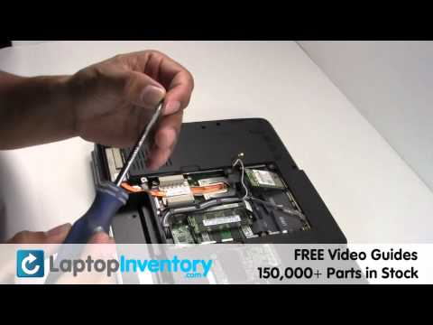 Dell Inspiron 1525 1545 Wireless Card Replacement Guide - Install Fix Replace - Laptop Wifi