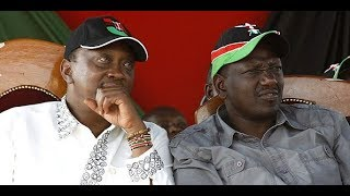 Uhuru and Ruto HECKLED BADLY and Called THIEVES While in Narok.Crowd Disrespects them