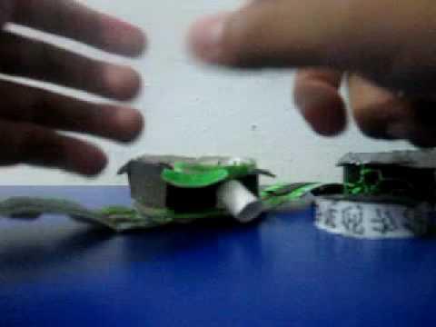Ben 10:Alien Force paper omnitrix instructional video