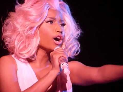 Nicki Minaj - Fire Burns - Hammersmith Apollo, London, 24/06/12