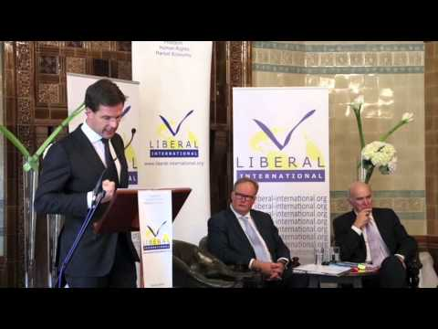 Liberal International 2013 Isaiah Berlin Lecture Mark Rutte, Prime Minister of the Netherlands and VVD Leader National Liberal Club London, UK 30 October 201...