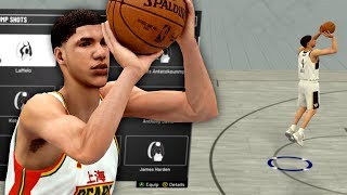 LaMelo Ball JUMPSHOT & Dribble Moves for MyCareer & Park | Best Jumpshot in NBA 2K19