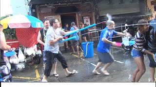 Thai new year or Songkran in Pattaya from 13 to 19 April, The best new year in the world