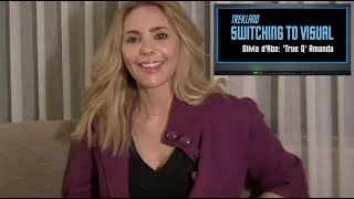 STV— Olivia 'Amanda Q' d'Abo reflects on her Star Trek TNG days