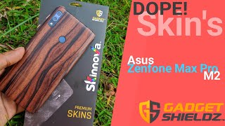 Dope Skins for Asus Zenfone Max Pro M2 Ft. Gadget Shieldz