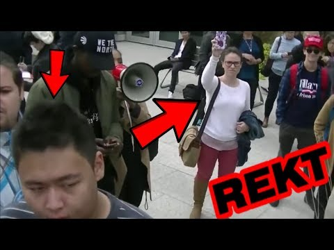 College Crybabies! Best WORST Social Justice Warrior Meltdowns at College! Snowflakes vs Free Speech