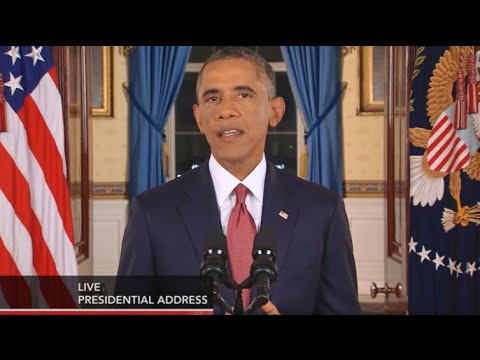 President Obama's Speech Announces Attack on ISIS