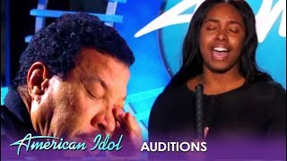 Shayy: Blind Girl Has The Judges BAWLING In TEARS! | American Idol 2019