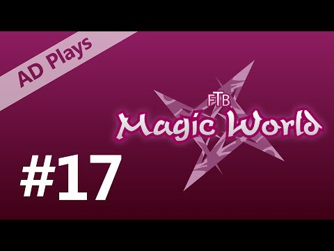 FTB Magic World 2 - Episode 17 - Exploring the Libraries