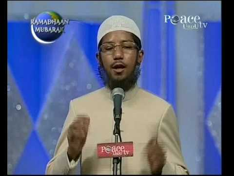 Urdu - Fariq Zakir Naik Lecture Imitating Dr Zakir Naik - Kids Re-enactment video