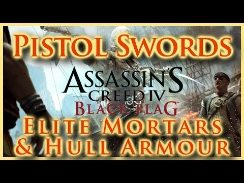 ASSASSINS CREED IV BLACK FLAG   PISTOL SWORDS   BEST SWORDS IN THE GAME   EPIC BATTLE   HD