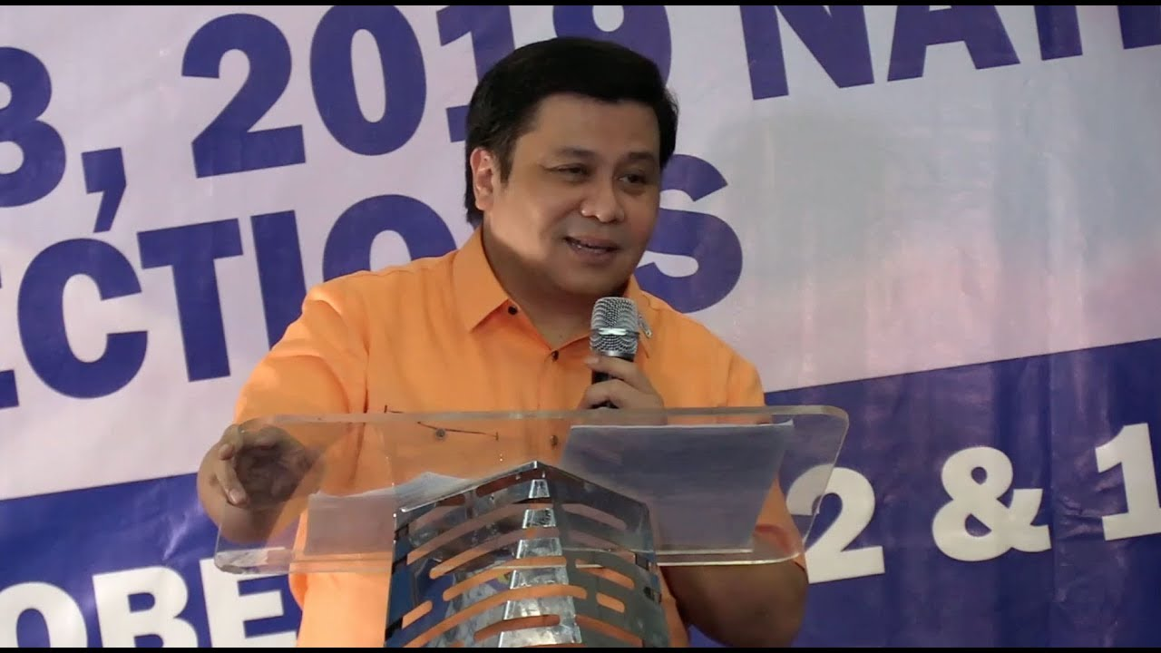 Jinggoy files candidacy for senator in 2019 polls