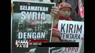 Umat Muslim di Indonesia berunjuk rasa di depan Kedubes Iran dan Rusia di Jakarta - iNews Pagi 20/12