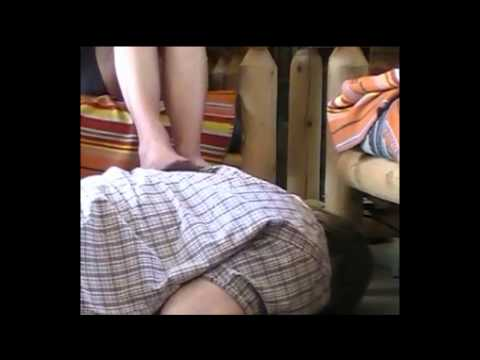 Julie Massages Her Father In Laws Back Candid Video