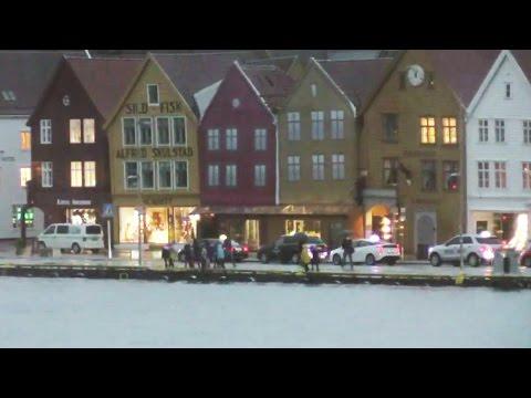Direkte fra ekstremværet Vidar i Bergen #1