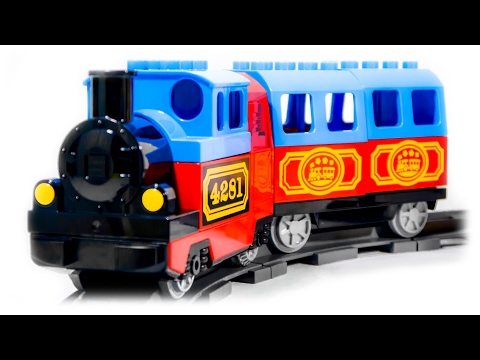 VIDEO FOR CHILDREN - My First Train Set, Toy LEGO Duplo 10507 | Мой...