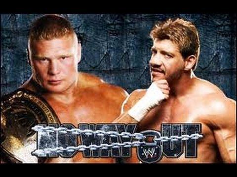 Brock Lesnar vs. Eddie Guerrero [No Way Out 2004]