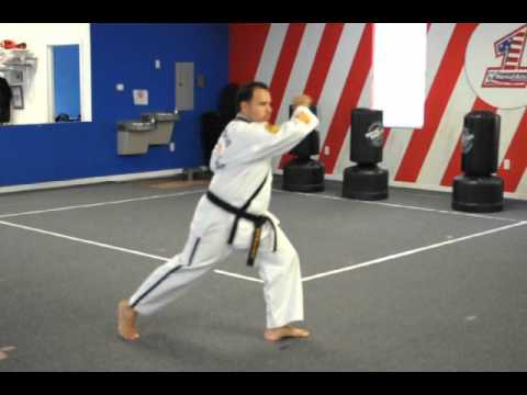 image for ATA TKD Songahm 3 7th Grade Yellow Belt Form