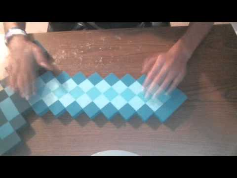 Review-Minecraft foam diamond sword