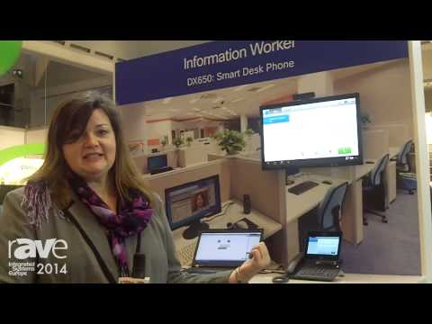 ISE 2014: Cisco Presents DX650 Smart Desk Phone in Information Workers Persona