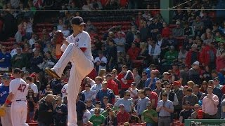 TOR@BOS: Buchholz throws 6 2/3 scoreless for Red Sox