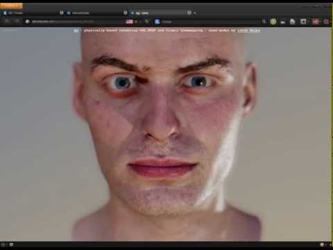 REAL or FAKE ? Realistic Graphics 2014 Photorealistic FACIAL Human EXPERSSION Face Engine GAME