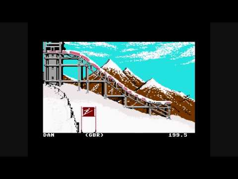 Winter Games C64 - All Gold!!!