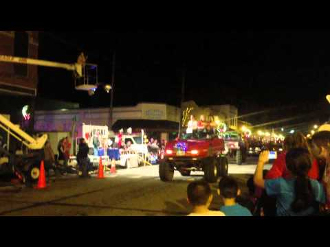 Carthage Tx Christmas Parade 2012