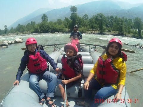 River Rafting at Kullu Manali - Adventure Sports