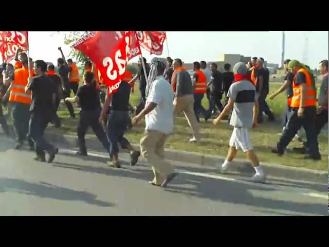 Presidio e sciopero alla TNT di Piacenza  3