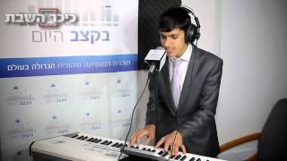 Meydad Tasa Sings On Radio Beketzev Hayom