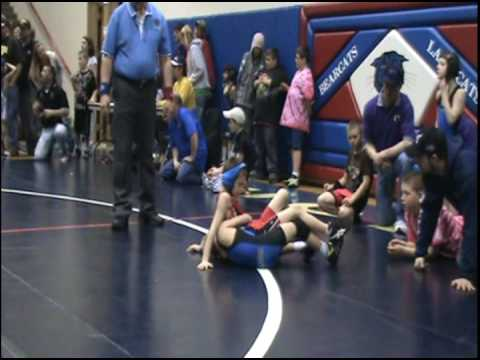 Damien Mason Wrestling Freestyle 2009 Casey Uhlich Tournament Image 1