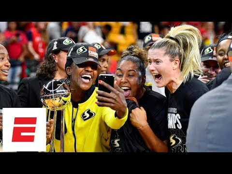 2018 WNBA Finals Game 3 highlights & celebration: Seattle Storm sweep Mystics to win title | ESPN