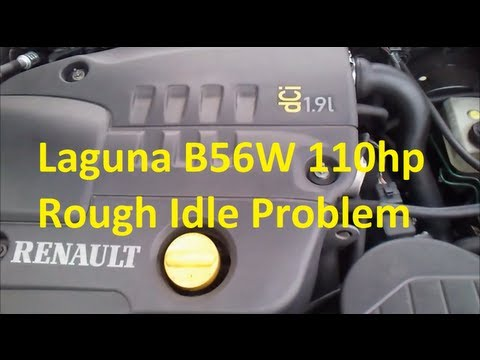 Renault Laguna 1 1.9dCi - rough idle problem (SOLVED!)