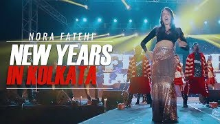 Nora Fatehi New years in Kolkata