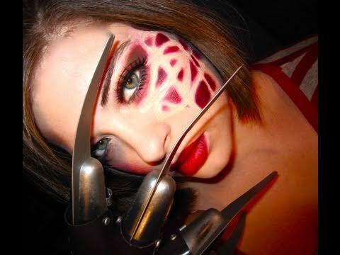 Freddy Krueger Makeup Tutorial Freddy Krueger Makeup Female