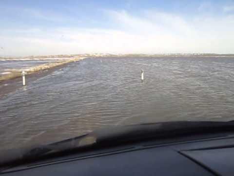 Прорыв плотины в Жанааркинском районе Карагандинской области