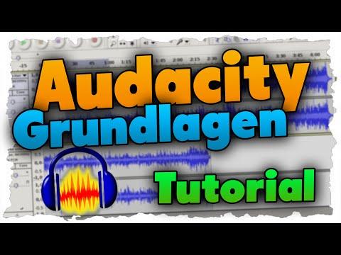 Audacity Tutorial German - Kostenlos Audio aufnehmen & bearbeiten!